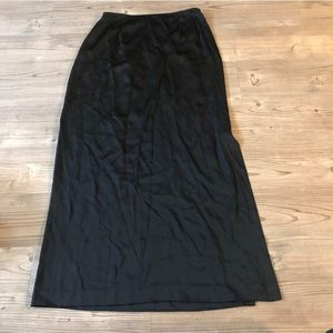 Lafayette 148 Maxi Skirt with Side Slit